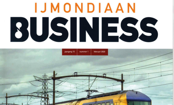 Uquip publicatie in IJMondiaan business magazine
