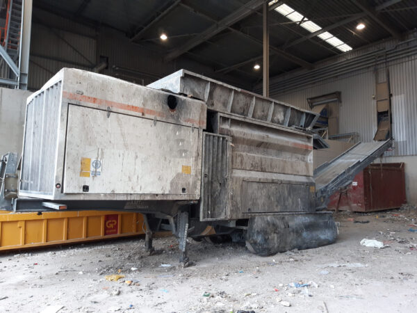 Shredder Type 4000-8-M