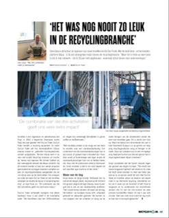 Recyclepro artikel Cees Duijn